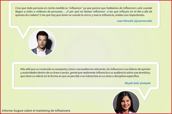 testimonio marketing influencers